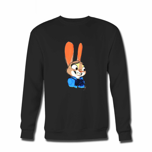 Your Zootopia Hey Hey Crewneck Sweatshirt just got an update. This super comfortable and lighter weight crewneck will become your favorite go-to sweatshirt. The cozy spandex cuffs and waistband make this pill-resistant sweatshirt a fan favorite.And your group will look and feel their best in this premium ringspun cotton crew.