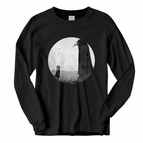 This classic fit Asking Alexandria The Black Album Rounded Long Sleeve Shirt is casually elegant and very comfortable. With fine quality print to make one stand out, it's a perfect fit for every occasion.
