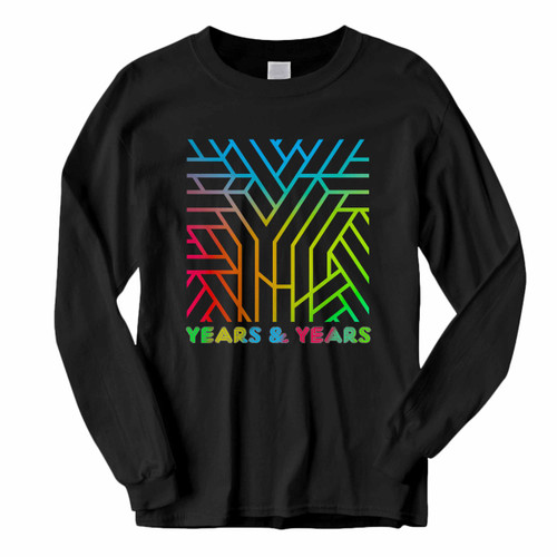 This classic fit Years And Years Communion Colorize With Title Long Sleeve Shirt is casually elegant and very comfortable. With fine quality print to make one stand out, it's a perfect fit for every occasion.