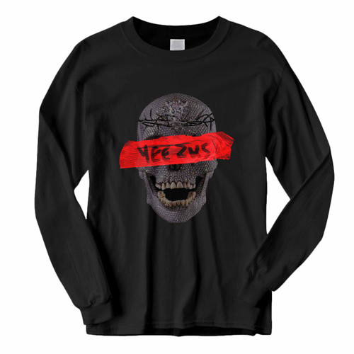 This classic fit Yeezus Skull Flowers Long Sleeve Shirt is casually elegant and very comfortable. With fine quality print to make one stand out, it's a perfect fit for every occasion.
