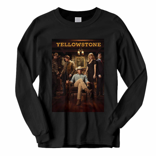 This classic fit Yellowstone Tv Show Long Sleeve Shirt is casually elegant and very comfortable. With fine quality print to make one stand out, it's a perfect fit for every occasion.