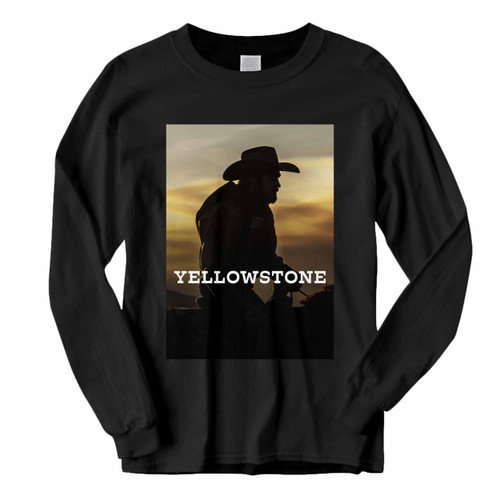 This classic fit Yellowstone Tv Show Cover Long Sleeve Shirt is casually elegant and very comfortable. With fine quality print to make one stand out, it's a perfect fit for every occasion.