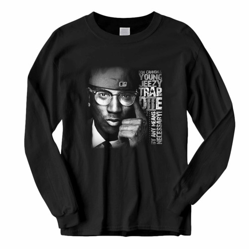 This classic fit Young Jeezy Trap De Necessary Long Sleeve Shirt is casually elegant and very comfortable. With fine quality print to make one stand out, it's a perfect fit for every occasion.