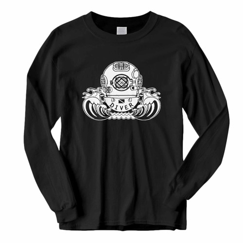 This classic fit Youth Kids Scuba Diving Long Sleeve Shirt is casually elegant and very comfortable. With fine quality print to make one stand out, it's a perfect fit for every occasion.