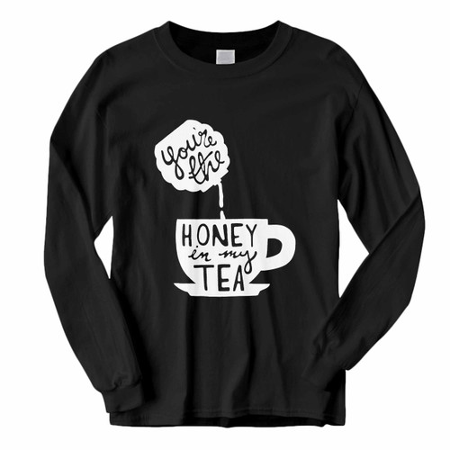 This classic fit You Are The Honey In My Tea Long Sleeve Shirt is casually elegant and very comfortable. With fine quality print to make one stand out, it's a perfect fit for every occasion.