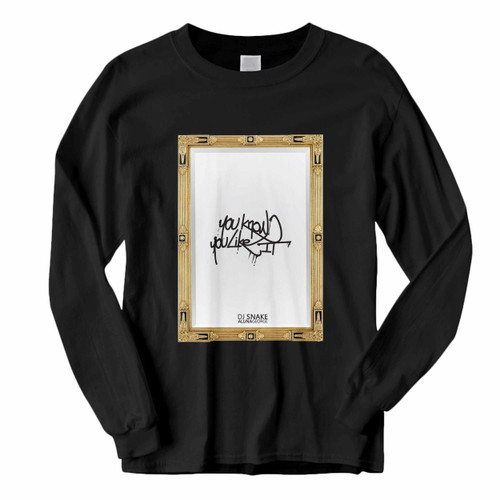 This classic fit You Know You Like It Dj Snake Alunageorge Original Cover Long Sleeve Shirt is casually elegant and very comfortable. With fine quality print to make one stand out, it's a perfect fit for every occasion.