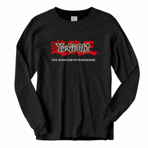 This classic fit Yugioh The Darkside Of Dimensions Cover Long Sleeve Shirt is casually elegant and very comfortable. With fine quality print to make one stand out, it's a perfect fit for every occasion.