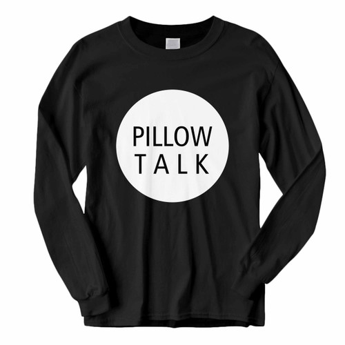 This classic fit Zayn Pillowtalk Title With Rounded Long Sleeve Shirt is casually elegant and very comfortable. With fine quality print to make one stand out, it's a perfect fit for every occasion.