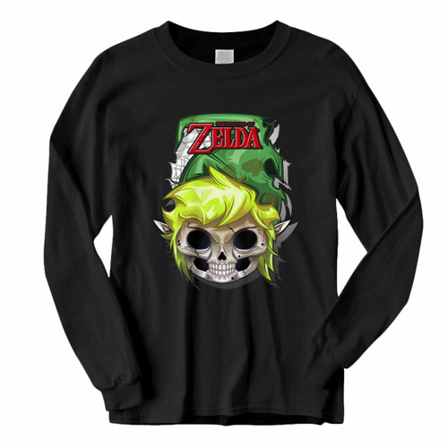 This classic fit Zelda Skull Head Long Sleeve Shirt is casually elegant and very comfortable. With fine quality print to make one stand out, it's a perfect fit for every occasion.