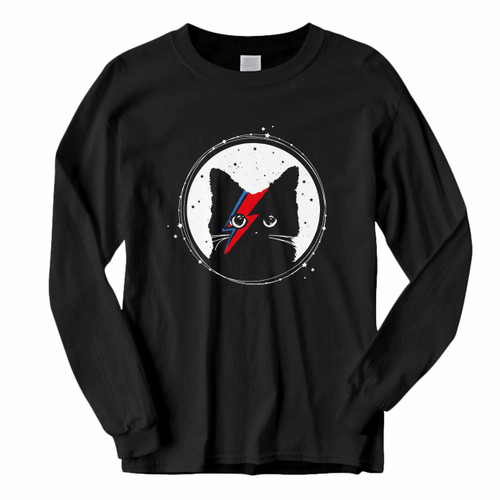This classic fit Ziggy Stardust Cat David Bowie Stardust Long Sleeve Shirt is casually elegant and very comfortable. With fine quality print to make one stand out, it's a perfect fit for every occasion.