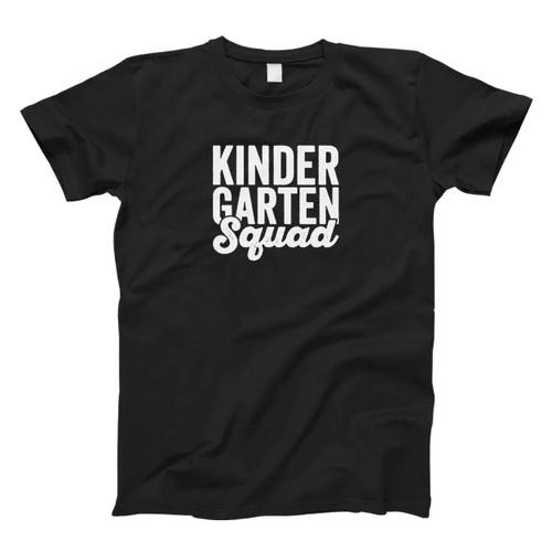 Teacher Squad Kindergarten Squad First Second Fresh Men T Shirt