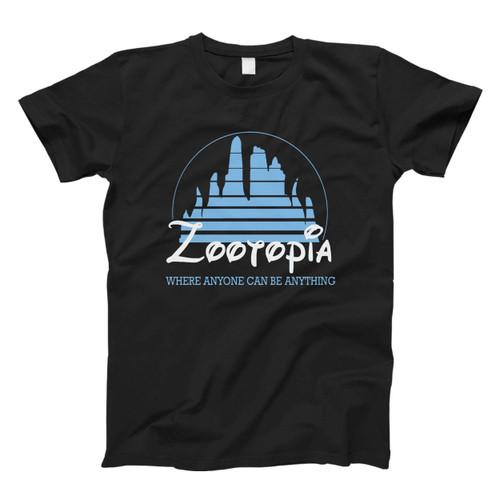 Zootopia Disney Movie Logo Fresh Men T Shirt