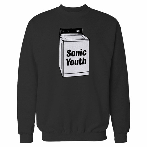 Your sonic youth washing machine crewneck sweatshirt just got an update. This super comfortable and lighter weight crewneck will become your favorite go-to sweatshirt. The cozy spandex cuffs and waistband make this pill-resistant sweatshirt a fan favorite.And your group will look and feel their best in this premium ringspun cotton crew.