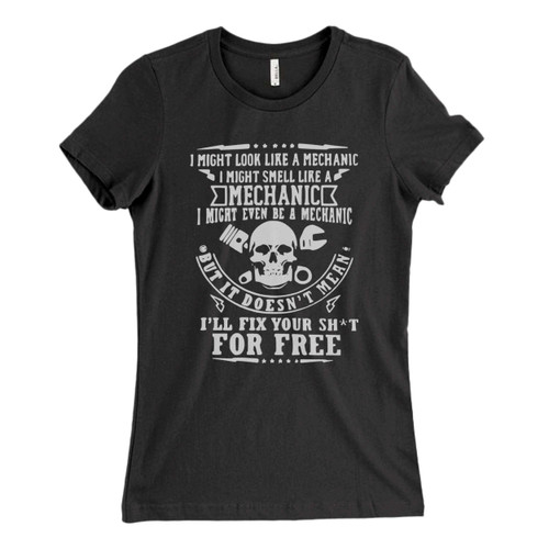 These are mechanic Fresh Women T Shirt that are cute tied to the side or paired with a cardigan or jacket for a more styled look. So comfy and classic, they are sure to make your vacation extra magical.