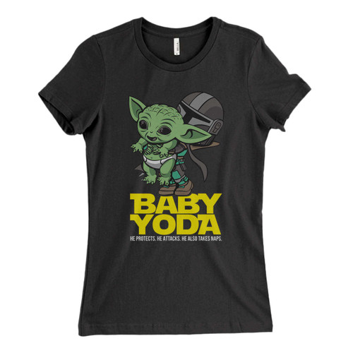 These are Novelty Baby Yoda Fresh Women T Shirt that are cute tied to the side or paired with a cardigan or jacket for a more styled look. So comfy and classic, they are sure to make your vacation extra magical.