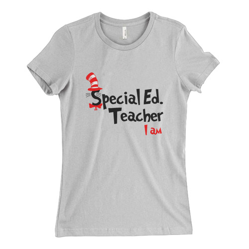 These are Teacher I Am Dr Seuss Sepecial Ed Fresh Women T Shirt that are cute tied to the side or paired with a cardigan or jacket for a more styled look. So comfy and classic, they are sure to make your vacation extra magical.