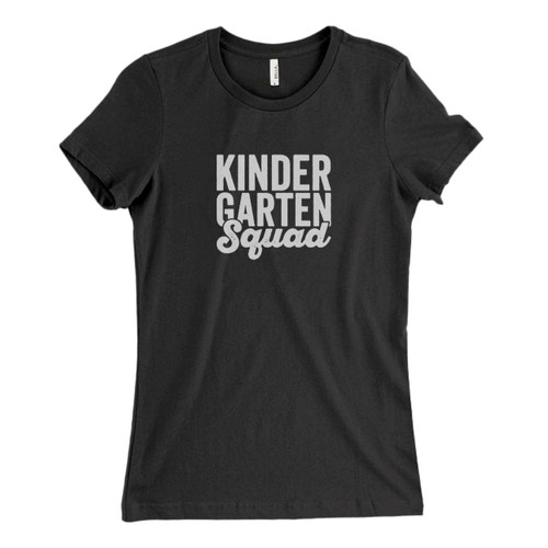 These are Teacher Squad Kindergarten Squad First Second Fresh Women T Shirt that are cute tied to the side or paired with a cardigan or jacket for a more styled look. So comfy and classic, they are sure to make your vacation extra magical.