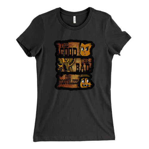 These are The Good The Bad & The Toothless Fresh Women T Shirt that are cute tied to the side or paired with a cardigan or jacket for a more styled look. So comfy and classic, they are sure to make your vacation extra magical.