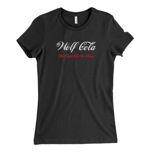 These are Wolf Cola Coca Cola Style Logo Fresh Women T Shirt that are cute tied to the side or paired with a cardigan or jacket for a more styled look. So comfy and classic, they are sure to make your vacation extra magical.