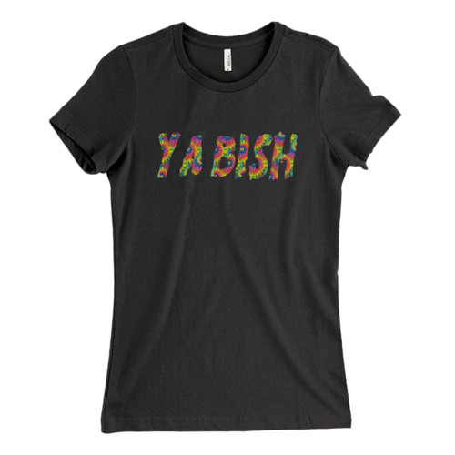 These are Ya Bish Rainbow Fresh Women T Shirt that are cute tied to the side or paired with a cardigan or jacket for a more styled look. So comfy and classic, they are sure to make your vacation extra magical.