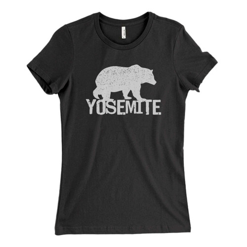 These are Yosemite Bear Fresh Women T Shirt that are cute tied to the side or paired with a cardigan or jacket for a more styled look. So comfy and classic, they are sure to make your vacation extra magical.