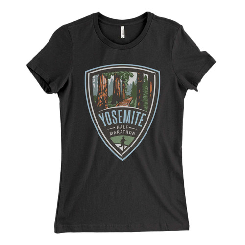 These are Yosemite Half Marathon Fresh Women T Shirt that are cute tied to the side or paired with a cardigan or jacket for a more styled look. So comfy and classic, they are sure to make your vacation extra magical.