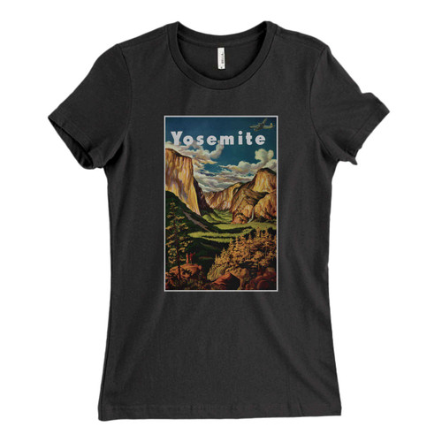 These are Yosemite National Park Art Fresh Women T Shirt that are cute tied to the side or paired with a cardigan or jacket for a more styled look. So comfy and classic, they are sure to make your vacation extra magical.