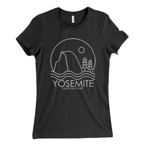 These are Yosemite National Park Sun Fresh Women T Shirt that are cute tied to the side or paired with a cardigan or jacket for a more styled look. So comfy and classic, they are sure to make your vacation extra magical.