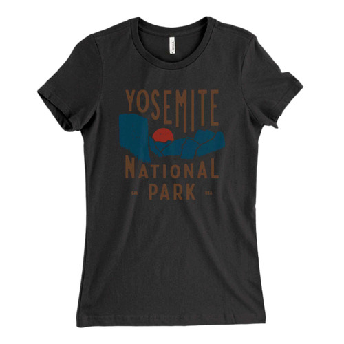 These are Yosemite National Park Usa Fresh Women T Shirt that are cute tied to the side or paired with a cardigan or jacket for a more styled look. So comfy and classic, they are sure to make your vacation extra magical.
