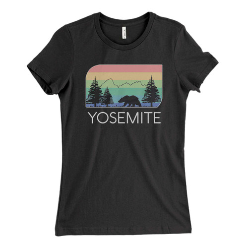 These are Yosemite National Park Fresh Women T Shirt that are cute tied to the side or paired with a cardigan or jacket for a more styled look. So comfy and classic, they are sure to make your vacation extra magical.