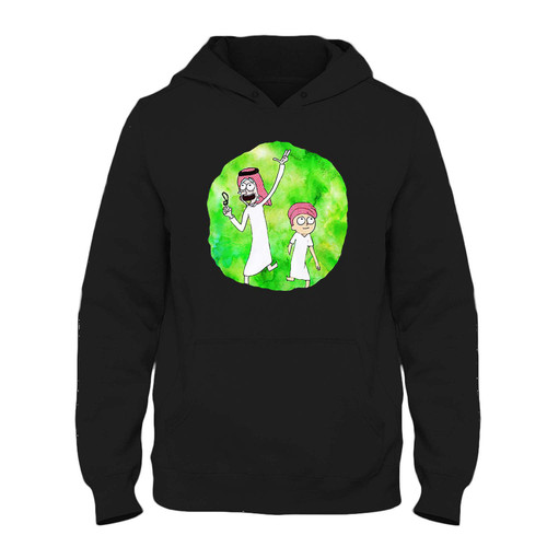 Was created with comfort in mind, this Arabian Rick And Morty Fresh Hoodie lighter weight is perfect for any activity. Teams and groups love this hoodie for its affordable price and variety of colors.