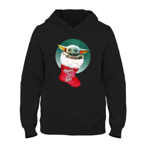 Was created with comfort in mind, this Baby Yoda Happy Life Day Fresh Hoodie lighter weight is perfect for any activity. Teams and groups love this hoodie for its affordable price and variety of colors.