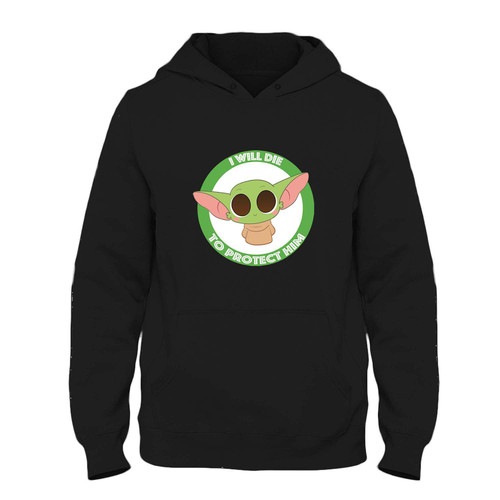 Was created with comfort in mind, this Baby Yoda I Will Die To Protect Him Fresh Hoodie lighter weight is perfect for any activity. Teams and groups love this hoodie for its affordable price and variety of colors.