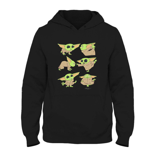 Was created with comfort in mind, this Baby Yoda Yoga Fresh Hoodie lighter weight is perfect for any activity. Teams and groups love this hoodie for its affordable price and variety of colors.