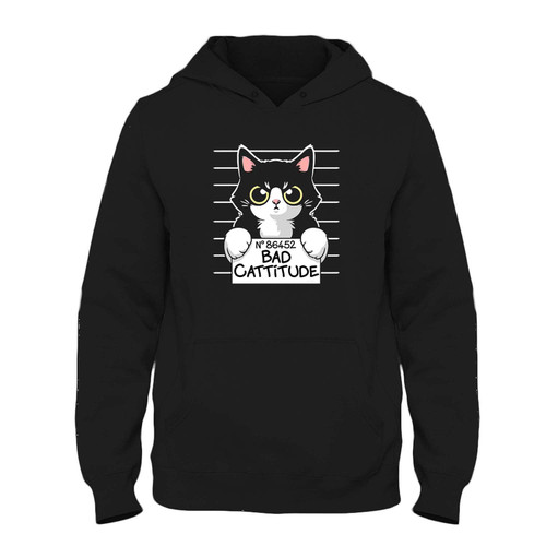 Was created with comfort in mind, this Bad Cattitude Fresh Hoodie lighter weight is perfect for any activity. Teams and groups love this hoodie for its affordable price and variety of colors.