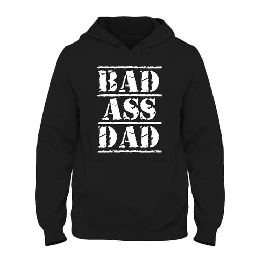 Was created with comfort in mind, this bad ass dad Fresh Hoodie lighter weight is perfect for any activity. Teams and groups love this hoodie for its affordable price and variety of colors.