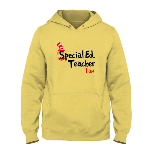 Was created with comfort in mind, this Teacher I Am Dr Seuss Sepecial Ed Fresh Best Hoodie lighter weight is perfect for any activity. Teams and groups love this hoodie for its affordable price and variety of colors.