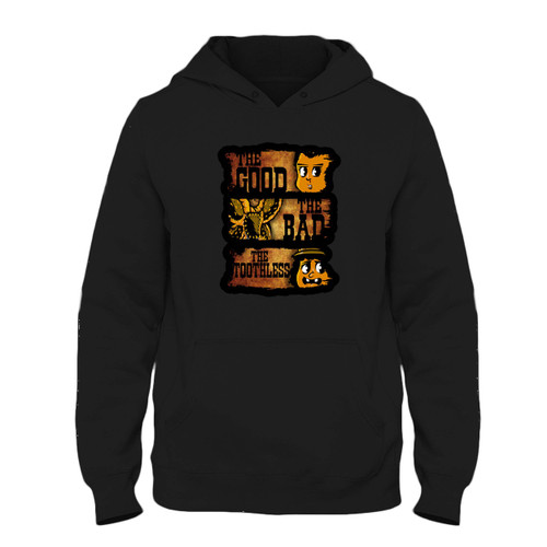 Was created with comfort in mind, this The Good The Bad & The Toothless Fresh Best Hoodie lighter weight is perfect for any activity. Teams and groups love this hoodie for its affordable price and variety of colors.