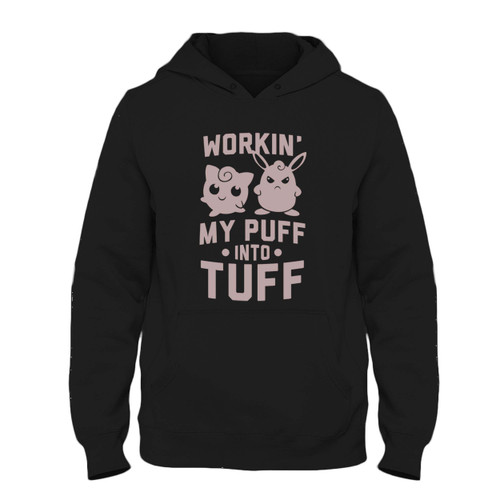Was created with comfort in mind, this Working My Puff Into Tuff Fresh Best Hoodie lighter weight is perfect for any activity. Teams and groups love this hoodie for its affordable price and variety of colors.