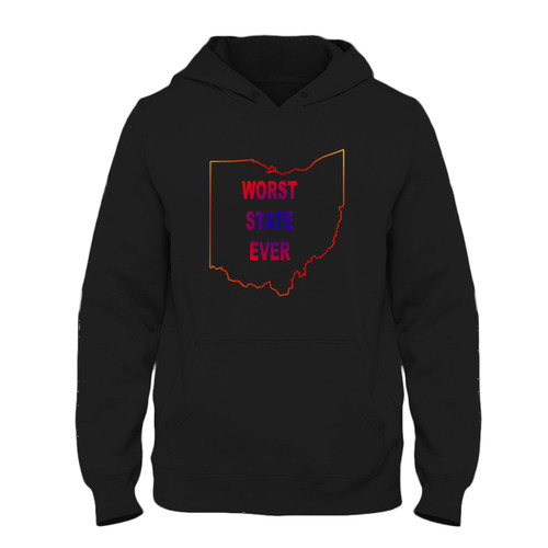 Was created with comfort in mind, this Worst State Ever Ohio Art Fresh Best Hoodie lighter weight is perfect for any activity. Teams and groups love this hoodie for its affordable price and variety of colors.