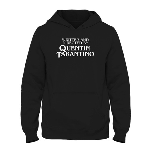 Was created with comfort in mind, this Written And Directed By Quentin Tarantino Fresh Best Hoodie lighter weight is perfect for any activity. Teams and groups love this hoodie for its affordable price and variety of colors.