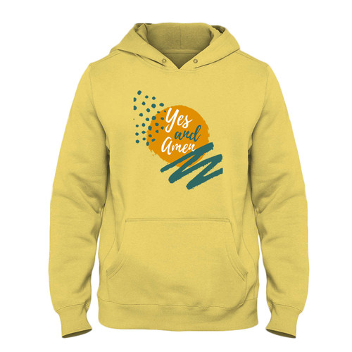 Was created with comfort in mind, this Yes And Amen Fresh Best Hoodie lighter weight is perfect for any activity. Teams and groups love this hoodie for its affordable price and variety of colors.