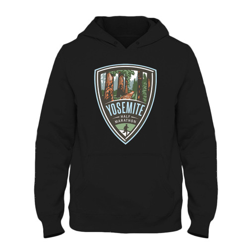 Was created with comfort in mind, this Yosemite Half Marathon Fresh Best Hoodie lighter weight is perfect for any activity. Teams and groups love this hoodie for its affordable price and variety of colors.