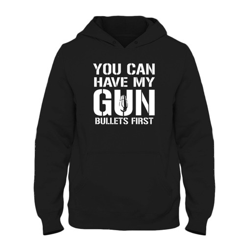 Was created with comfort in mind, this You Can Have My Gun Fresh Best Hoodie lighter weight is perfect for any activity. Teams and groups love this hoodie for its affordable price and variety of colors.