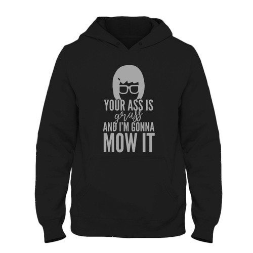 Was created with comfort in mind, this Your Ass Is Grass Fresh Best Hoodie lighter weight is perfect for any activity. Teams and groups love this hoodie for its affordable price and variety of colors.