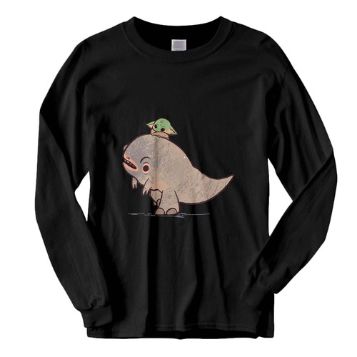 This classic fit Baby Yoda Dinosaur Art Fresh Best Long Sleeve Shirt is casually elegant and very comfortable. With fine quality print to make one stand out, it's a perfect fit for every occasion.