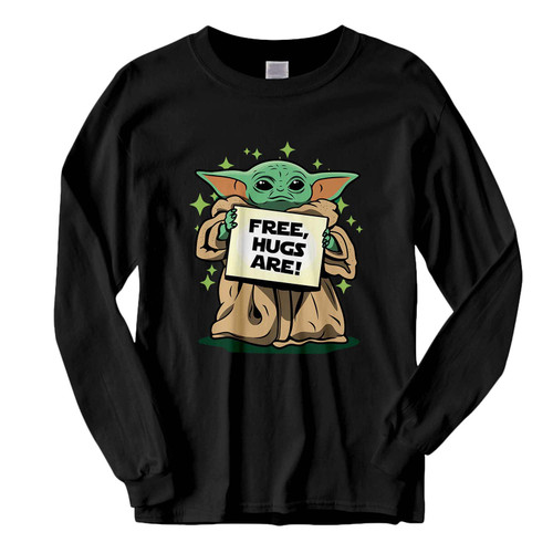 This classic fit Baby yoda Free Hugs Are Fresh Best Long Sleeve Shirt is casually elegant and very comfortable. With fine quality print to make one stand out, it's a perfect fit for every occasion.