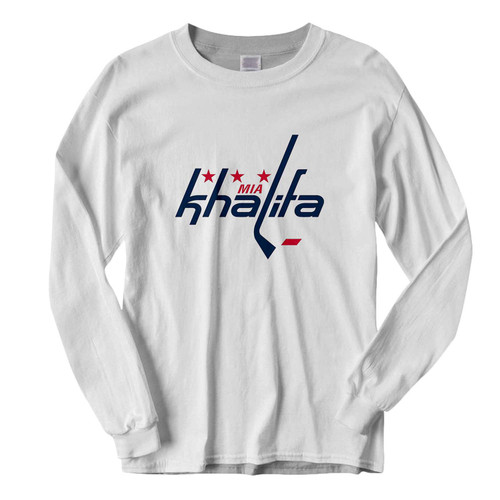 This classic fit Mia Khalifa Caps Logo Fresh Best Long Sleeve Shirt is casually elegant and very comfortable. With fine quality print to make one stand out, it's a perfect fit for every occasion.