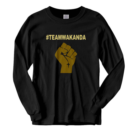 This classic fit Team Wakanda Black Panther Fresh Best Long Sleeve Shirt is casually elegant and very comfortable. With fine quality print to make one stand out, it's a perfect fit for every occasion.