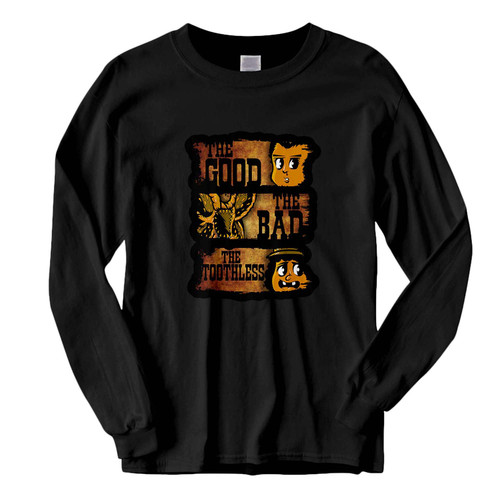 This classic fit The Good The Bad & The Toothless Fresh Best Long Sleeve Shirt is casually elegant and very comfortable. With fine quality print to make one stand out, it's a perfect fit for every occasion.